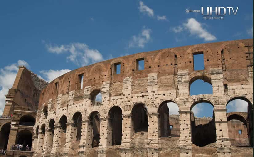 samsung 7 wonders of the world italy