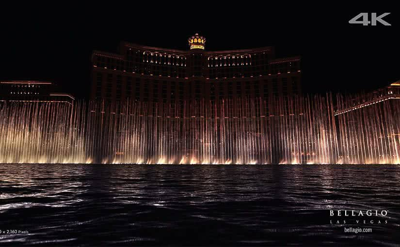 sony the fountains of bellagio